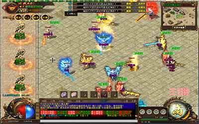 玩家在火龙迷失传奇中获取大量金币的方法