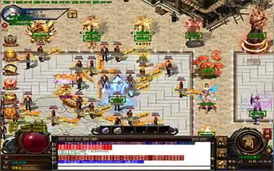传奇网通复古玩家回收武器装备的攻略