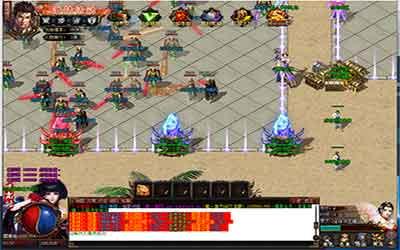 玩家在传奇世界单职业迅速击杀怪物的窍门