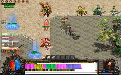 玩家在网通传奇中变中释放施毒技能的技巧分析