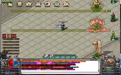 微变复古传奇玩家拥有高级护盾的攻略