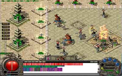 分析玩家在神器火龙传世中击倒魔龙教主的方式