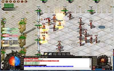 战士在热血传奇变态中PK时怎么补血?