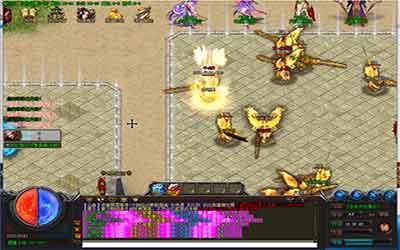玩家在合击传世新开中完成降魔每日任务的攻略