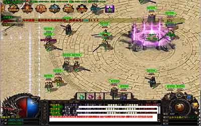 超变传奇公益玩家进入魔龙之城团本的方法
