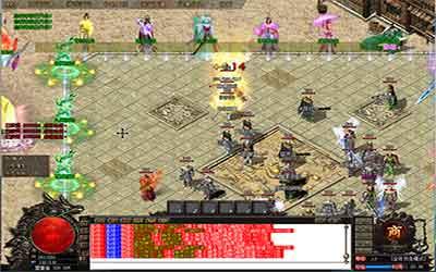 迷失复古传奇玩家可以去石墓阵杀白野猪