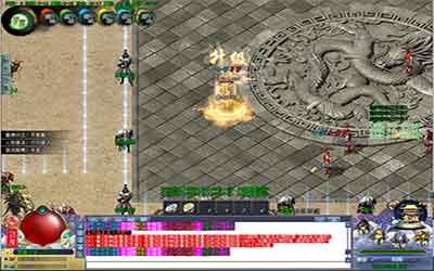 玩家怎么在合击传世新开中打触龙神?