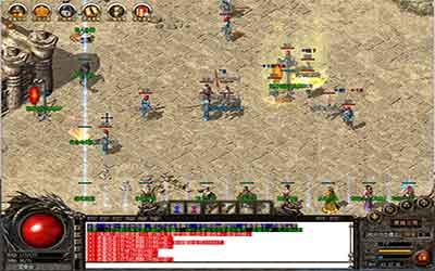 封龙塔是沉默传世私服玩家得到晶石的重要途径