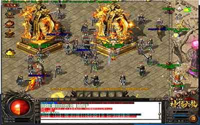 玩家能在网通传奇中变的试炼迷宫中爆出5阶装备