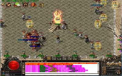 玩家在火龙传奇私服中得到魔血石道具的方法