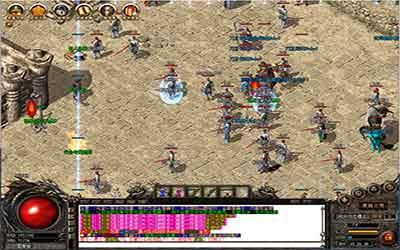 玩家在新开合击传奇中打逆魔之王BOSS的攻略