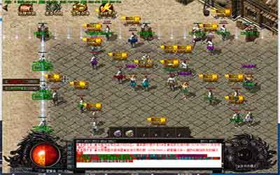 玩家进入传奇私服合击诛魔皇都地图的方法