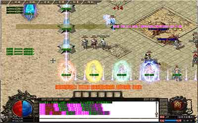 玩家可以去新开传奇单职业的祖玛寺院打怪爆装备