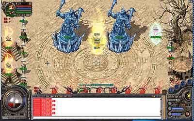 玩家进入沉默传奇打金时空裂缝地图的路线
