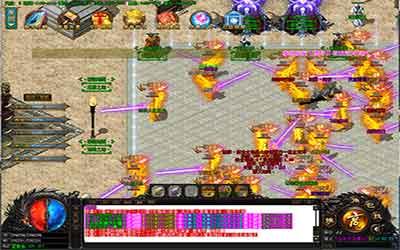 介绍玩家进入单职业传奇超变玛雅神殿的方式
