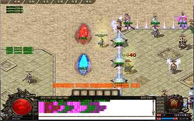 神器火龙传世玩家挖黑铁矿石的窍门