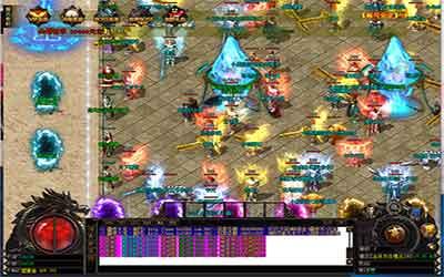 玩家在微变复古传奇击倒BOSS可得到装备