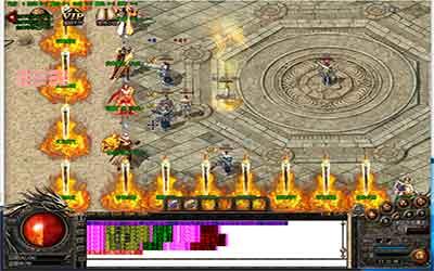 冰雪传奇最新开玩家探宝有概率得到图腾