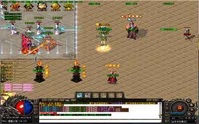迷失复古传奇玩家玩神魔每日任务的攻略