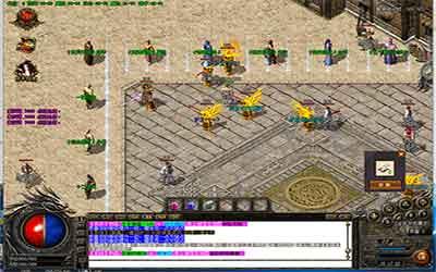 分享热血传奇中变游戏里挖矿的小技巧!