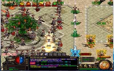 中变传奇世界sf中的沙巴克攻城游戏玩法解析!