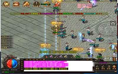 蓝月热血传奇中战士的基础游戏玩法解析!