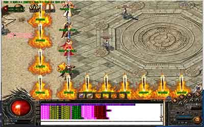 神刀魔域游戏在传奇大极品公益中咋玩?