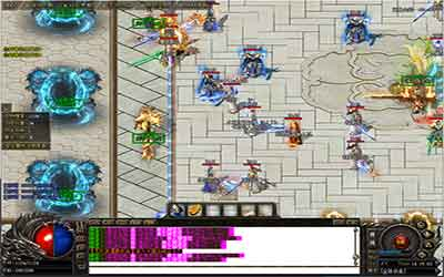 变态传奇sf发布网玩战士的感受!